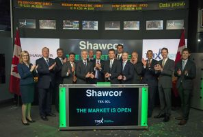 Shawcor Ltd. Opens the Market