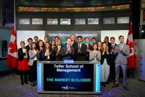 Telfer School of Management Closes the Market