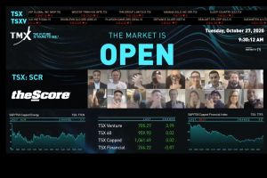 Score Media and Gaming Inc. Virtually Opens The Market