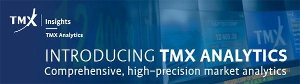 TMX Group introduces TMX Analytics