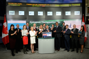 Cynapsus Therapeutics Opens the Market