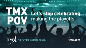 TMX POV - Let's stop celebrating making the playoffs
